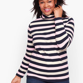 Talbots Long Sleeve Turtleneck Tee - Calverton Stripe