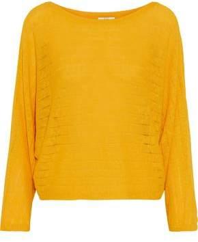 Joie Brooklynn Ramie And Cotton-blend Sweater