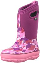 Bogs Classic Camo Winter (Tod/Yth) - Pink/Multi - 6 Youth