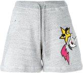 DSQUARED2 punk patches shorts - women - Cotton - XS