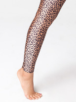 American Apparel Cheetah Print Nylon Leggings