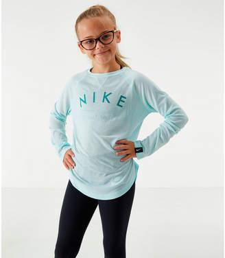 Nike Girls' Dri-FIT Trophy Long-Sleeve Training Shirt