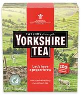 Taylors of Harrogate Taylors Of Harrogate 100-Count Yorkshire Black Tea Bags