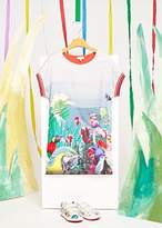 Paul Smith Girls' 8+ Years Coral 'Birds Of Paradise' Print Dress