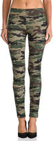 Plush Camo Print Legging