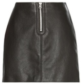 Acne Studios Franca Leather Miniskirt