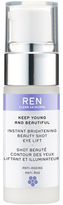 REN Keep Young and BeautifulTM Instant Brightening Beauty Shot Eye Lift (15ml)