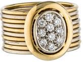 Damiani Multi-Band Diamond Ring