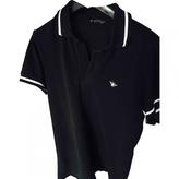 Christian Dior Black Cotton Polo shirt