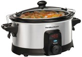 Hamilton Beach Stay or Go IntelliTime 6 Quart Slow Cooker - Stainless - 33367
