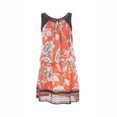 Rene Derhy Scarf Print Shift Dress