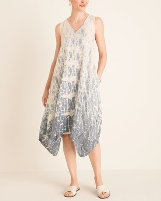 XCVI Sleeveless Linen Tie-Dye Dress__