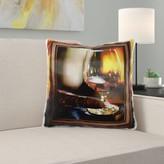 Michigan Cognac and Cuban Cigar Pillow Cover East Urban Home