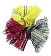 Valentino Stripe Az 154-155-157 100% Silk Scarves