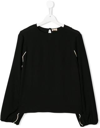 Elisabetta Franchi La Mia Bambina TEEN long sleeve blouse