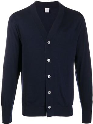 Eleventy Lightweight Wool Cardigan