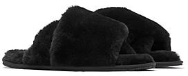 Sorel Women's Go Mail Run Faux Fur Slippers