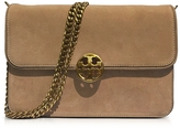 Tory Burch Chelsea Stucco Suede Shoulder Bag