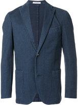 Boglioli denim single breasted jacket - men - Cotton/Polyester/Spandex/Elastane - 46