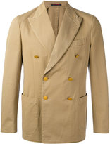 The Gigi - double breasted jacket - men - Cotton - 48