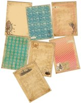 7 Gypsies 7G18011 Maritime Double-Sided Journal Page, 5-Inch X 7-Inch, 12-Pack