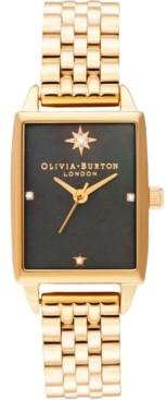 Olivia Burton Women's Celestial Gold-Tone Stainless Steel Bracelet 26mm