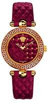 Versace Women's VQM030015 Vanitas Micro Analog Display Swiss Quartz Red Watch