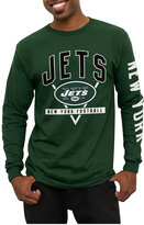Junk Food Clothing Men's New York Jets Nickel Formation Long Sleeve T-Shirt