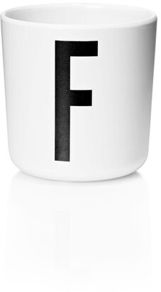 Design Letters Personal Melamine Cup - F