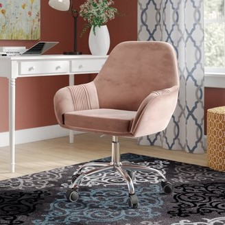 Grove Lane Albrecht Task Chair Grovelane Color: Dusky Rose