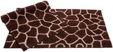 Asstd National Brand Chesapeake Merchandising Giraffe 2-pc. Bath Rug Set
