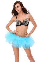 Dressystar Women's Adult Tulle Tutu Ballet Dance Fluffy Skirt Assorted Colors Assorted Colors