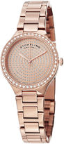 Stuhrling Original Womens Rose Goldtone Bracelet Watch-Sp14923