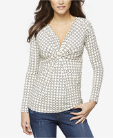 A Pea in the Pod Nursing Twist-Front Top