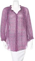 Isabel Marant Silk Printed Tunic