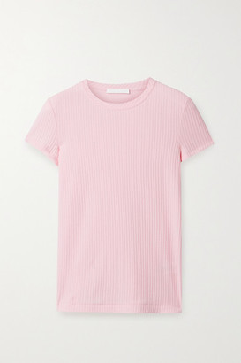 Helmut Lang Ribbed Cotton-jersey T-shirt