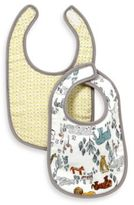 DwellStudio Muslin Bib in Safari (Set of 2)