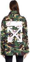Off-White Off White M65 Camo & Cherry Blossom Field Jacket