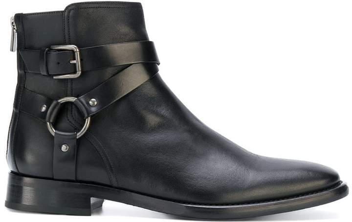 Dolce & Gabbana buckled ankle boots
