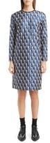 Dries Van Noten Women's Jacquard Lame Shift Dress