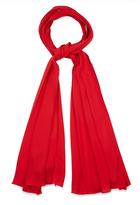 Gucci Silk-crepe narrow scarf