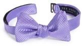 Ted Baker Stripe Silk Bow Tie