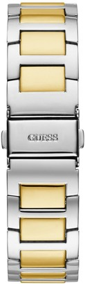 GUESS Lady Frontier Silver and Gold Detail Glitz Multi Dial Two Tone Stainless Steel Bracelet Ladies Watch
