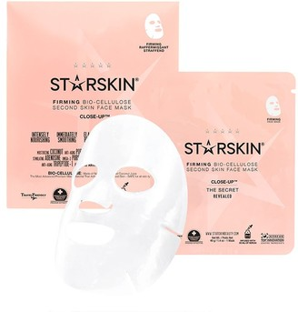 Starskin Close-Up Coconut Bio-Cellulose Second Skin Firming Face Mask