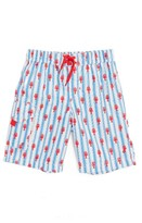 Hatley Toddler Boy's Lobster Board Shorts