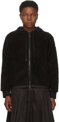 Moncler Black Sherpa Sweater