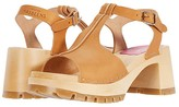 Swedish Hasbeens Stitched Tracta Sandal (Nature) Women's Shoes