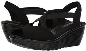Skechers Parallel - Piazza (Black) Women's Shoes