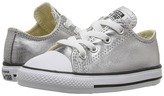 Converse Chuck Taylor® All Star® Metallic Canvas Ox (Infant/Toddler)