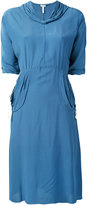 Loewe v neck dress - women - Silk/Viscose - 34